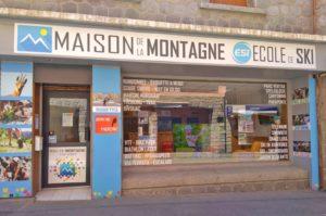 Maison de la Montagne à Font-Romeu accueillant l'ESI et Aventure Pyrénéenne