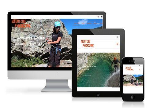 Site web Aventure Pyrénéenne