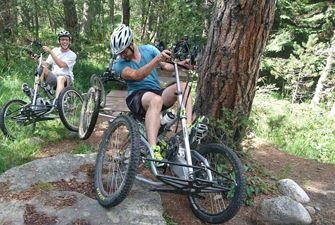 Quad Bike panoramique avec Hugues