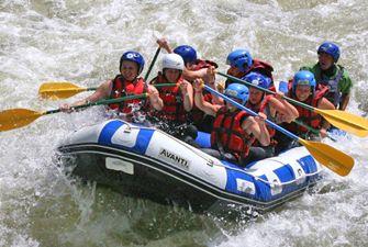 Rafting intégral dans les gorges de l'Aude - descente sportive