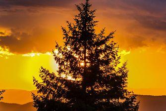 Coucher de soleil en Cerdagne