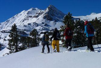 Randonnées raquettes dans les Pyrénées Orientales