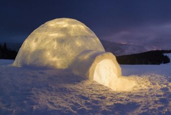 stage froid - construction et nuit en igloo