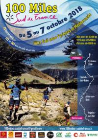 Affiche du 100 Miles Sud de France 2018