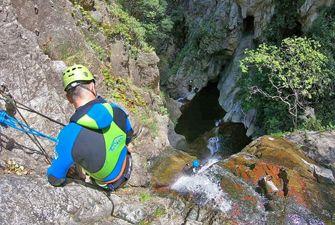 Canyons Les cascades Baoussous à Céret