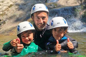 Canyoning découverte dans les Pyrénées Orientales