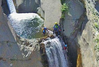Canyon sensasation dans le massif du Canigou : le Llech