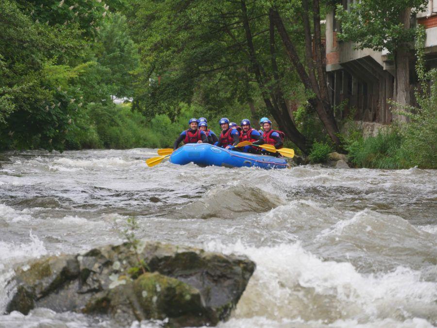 Rafting dans l'aude - Pyrénées