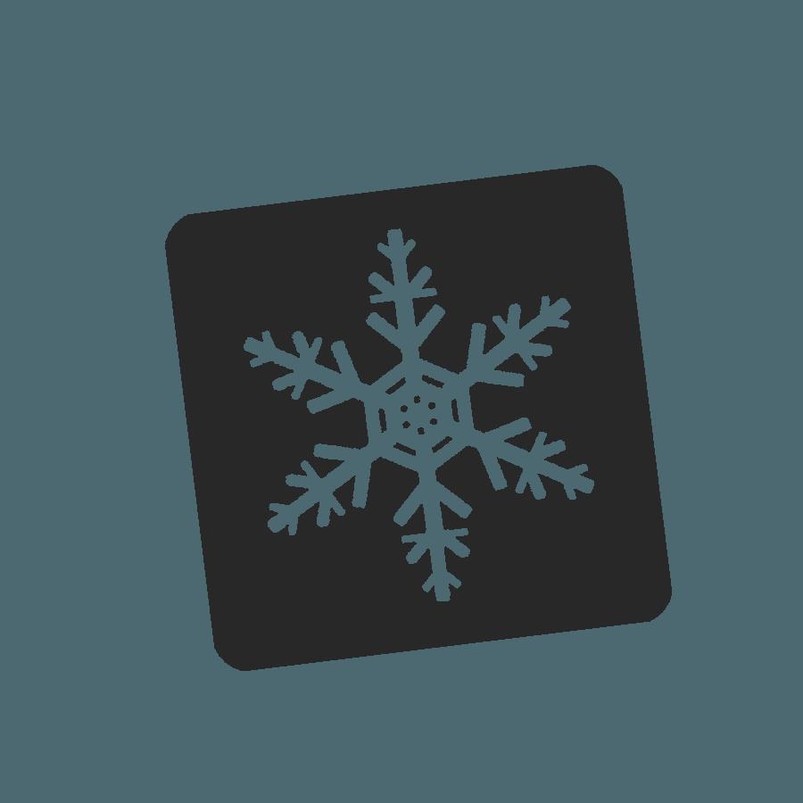 Logo des activités neige à la Montagne en hiver - Font-Romeu