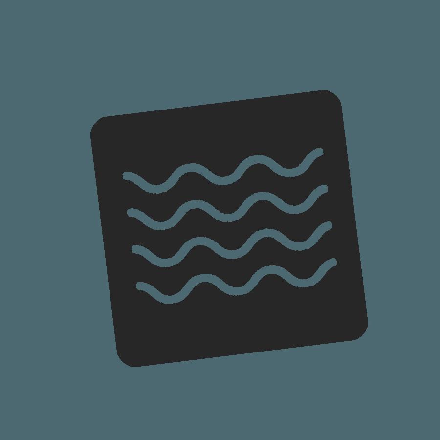 Logo sport nature aquatique - mer méditerranée
