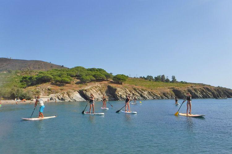 Paddle à PAulilles à deux pas d'Argeles-sur-Mer avec Paddling Paradise