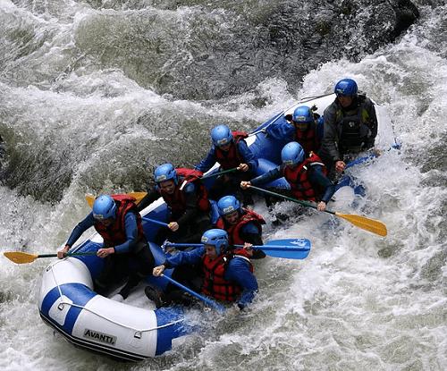 Rafting Challenge dans les Gorges de l'Aude