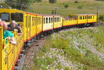 Randonnée train jaune