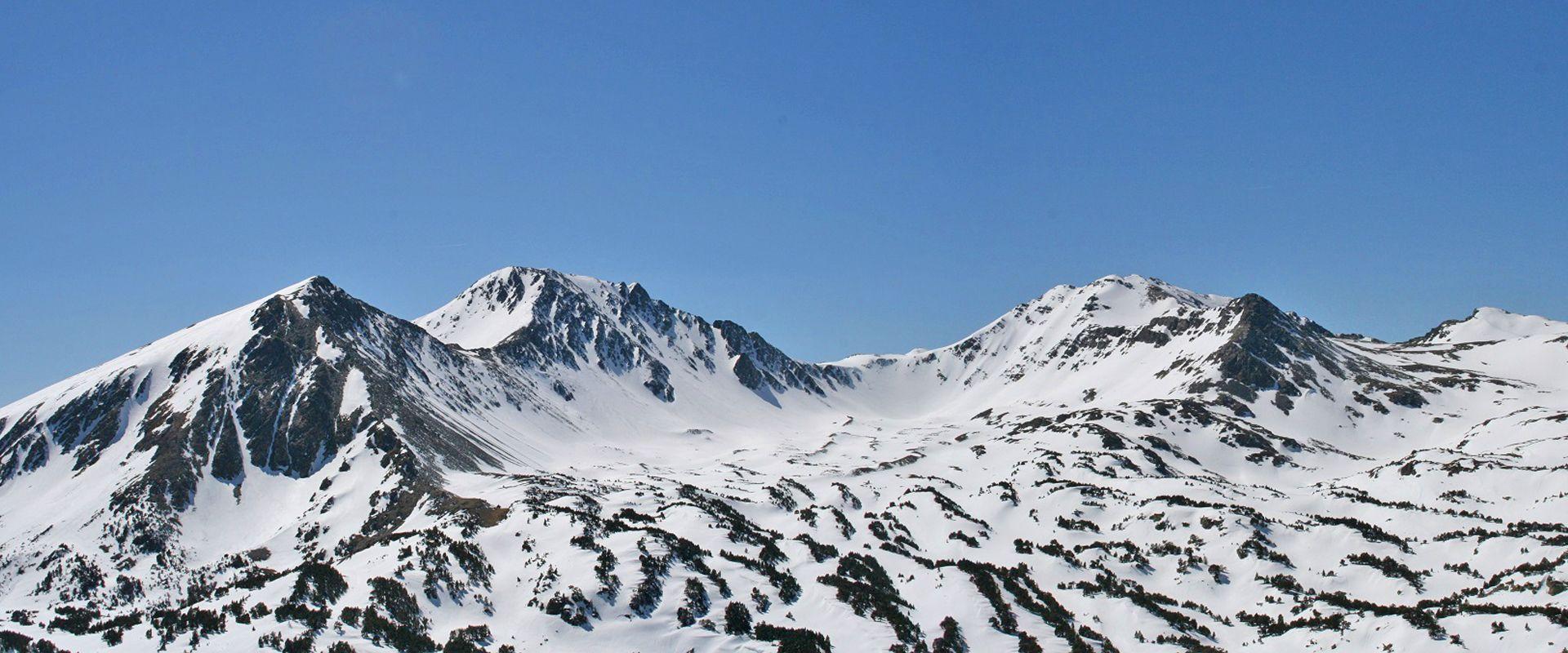 Ski de randonnée depuis la station de ski de Formiguères - Les Camporells