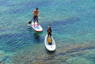Stand-up paddle à Argelès-sur-Mer
