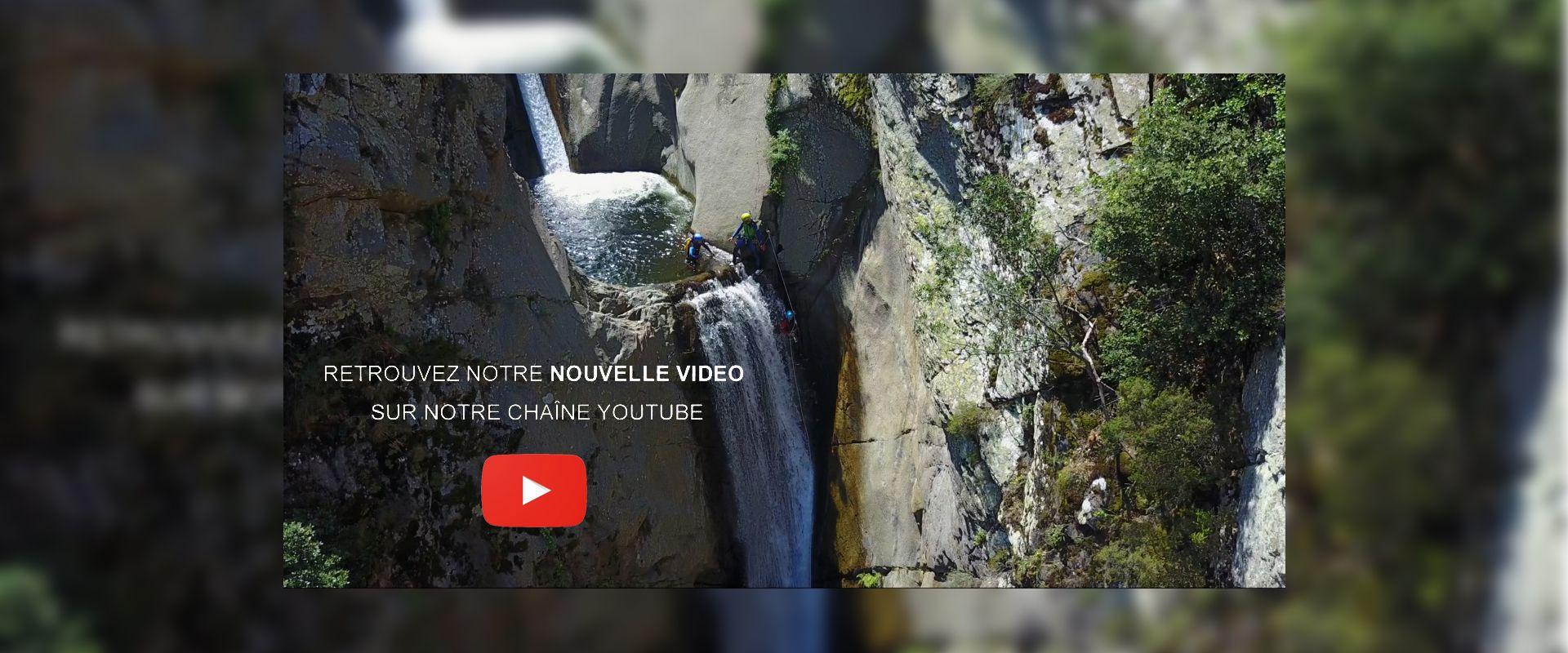 Vidéo dabs e canyon du Llech
