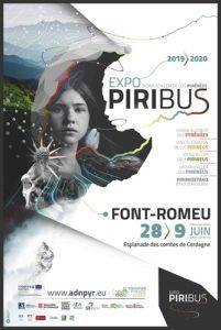 L'affiche du Piribus à Font-Romeu