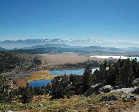Lac des Bouillouses en été