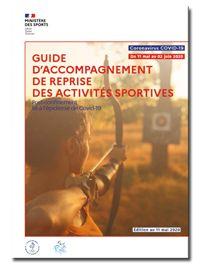 Guide d'accompagnement de la reprise des activites sportives après le confinement - du 11 mai au 2 juin