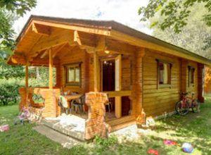 L'escapade : location de chalets en bois à Estavar