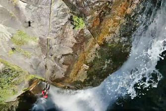 Canyon le Grand Taurinya dans le Massif du Cani