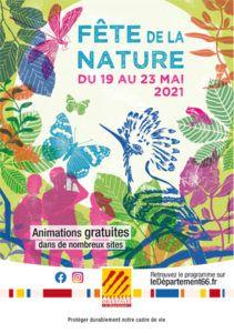 Affiche de la Fête e la Nature - Département des Pyrénées Orientales
