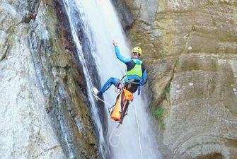 Canyon du Llech dans le massif du Canigou - au coeur des Pyrénées Orientales