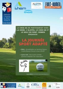 Journée sport adapté à Font-Romeu