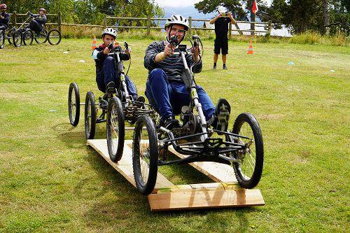 quadbike et handicap